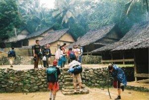 Desa suku Baduy luar